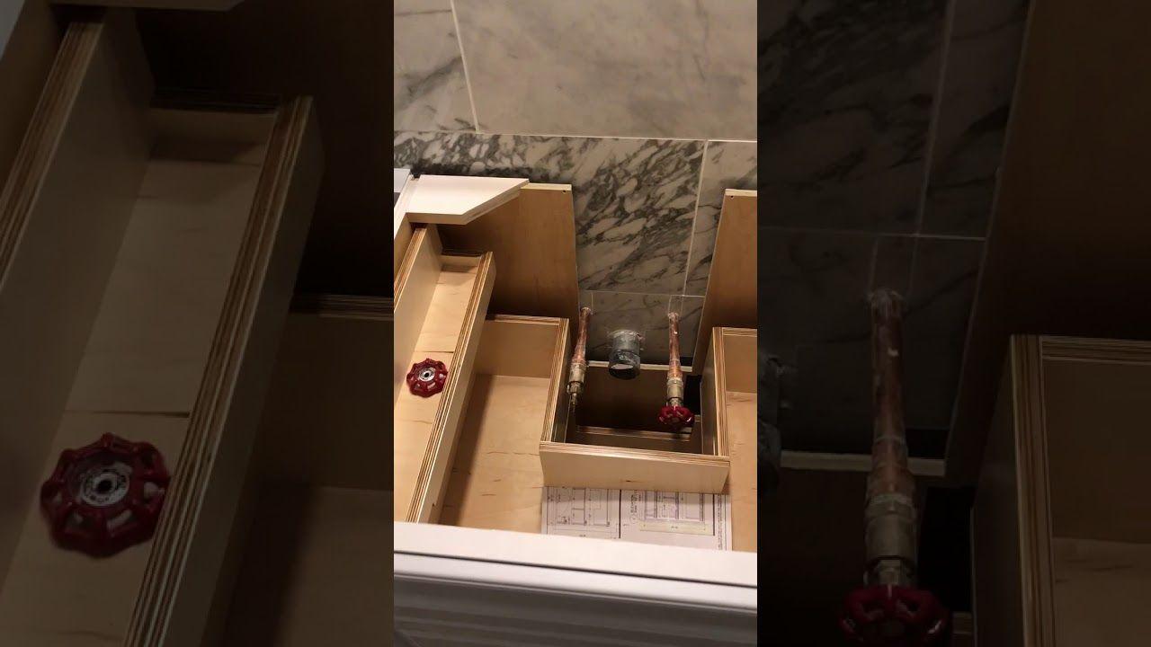 Behind The Scenes Sutton Place Hall Bathroom Renovation - Youtube bathroom renovation
