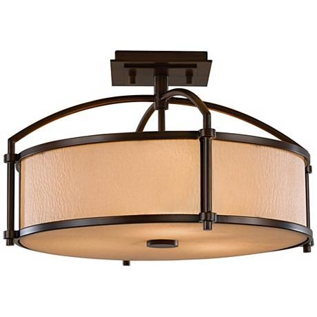 """Feiss Preston Collection 16"""" Wide Ceiling Light"""
