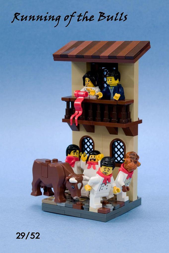 San Fermin Lego News Lego Running Of The Bulls