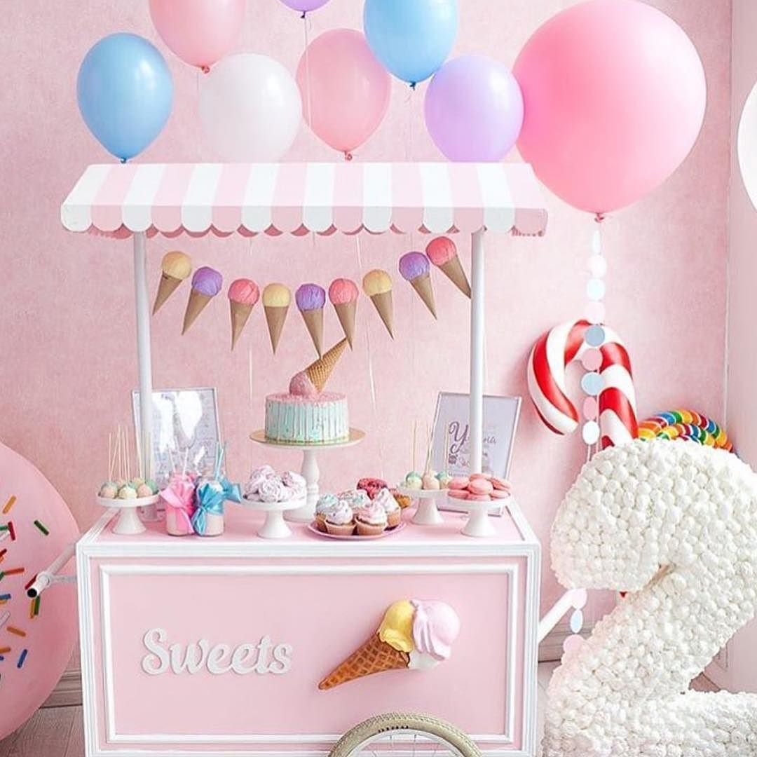 The Sweetest 2 Year Olds Birthday Party Ptbaby Birthdaypartyideas Luxuryparty
