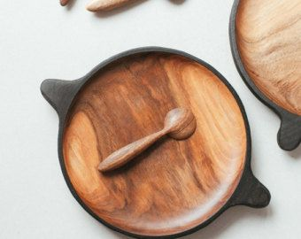 Serving small walnut plate Wooden serving plate dish Small rustic serving plate Japanese wooden plate Wooden & Serving small walnut plate Wooden serving plate dish Small rustic ...
