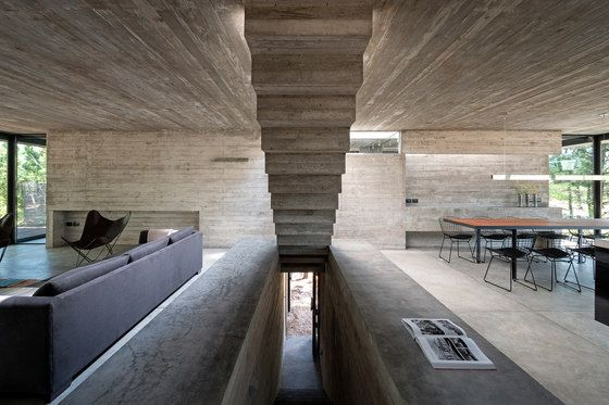 L4 house concrete beton architektur betonh user und for Beton haus bauen