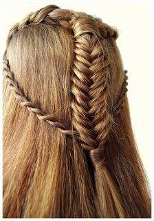 Enchanted Hairstyles Elf Hair Elf Hair Hair Styles Medieval Hairstyles