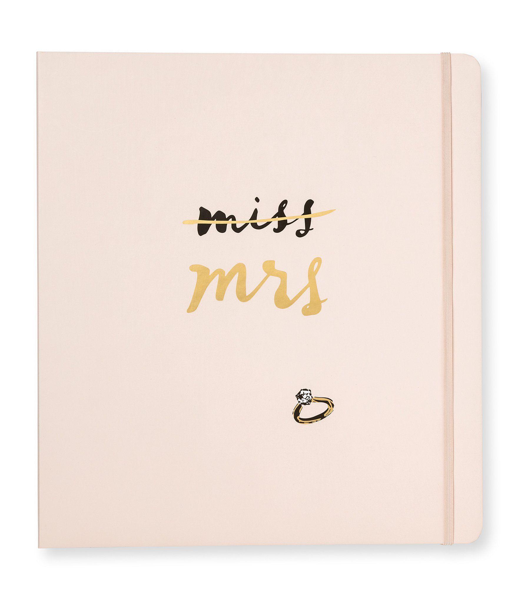 Dillards Wedding Gifts: Kate Spade New York Miss To Mrs. Bridal Planner
