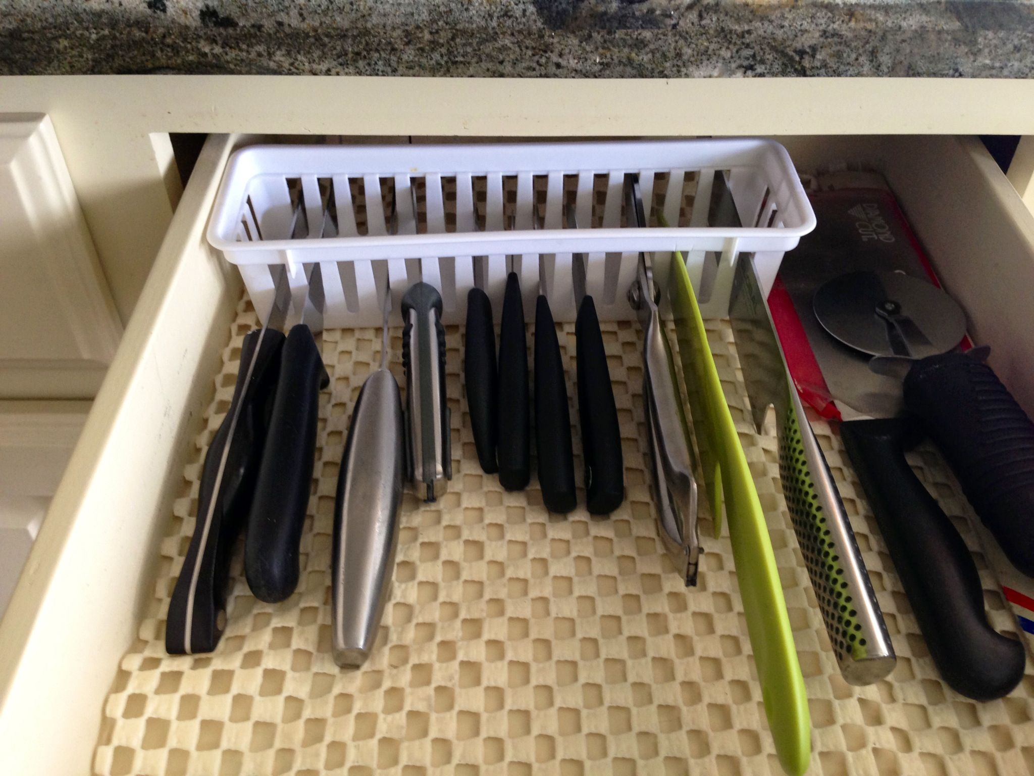 Pin By Janie Brady Heffel On Storage Diy Knife Storage Kitchen