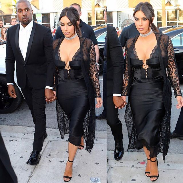 The Wests Out Yesterday In Miami April 23 Kimkardashianwest Kanyewest Kim Kardashian Outfits Kardashian Style Kim Kardashian Kanye West