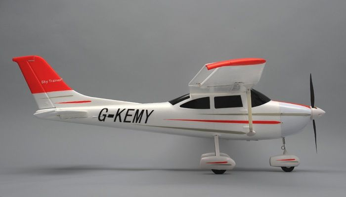 AeroSky 4-Channel Sky Trainer 1410mm RC Airplane RTF (Red) | RC