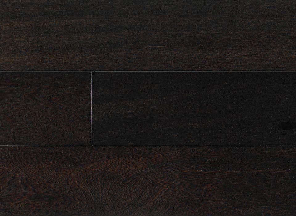 INDUSPARQUET USA - Exotic Gallery - Textured - Brazilian Angelim Ebony High Sheen