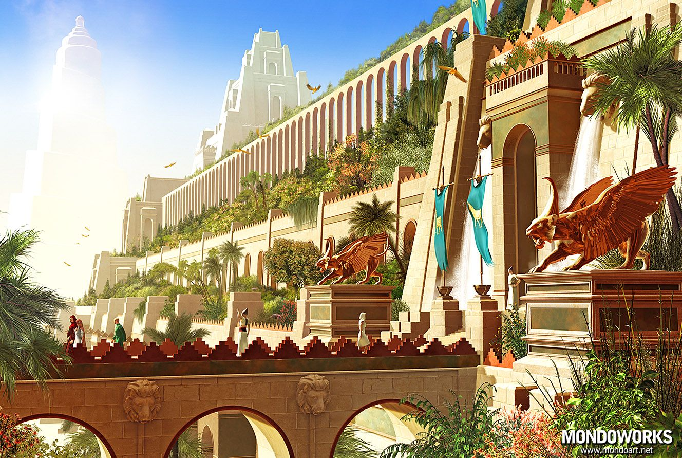 5a759c226f5bd58f06d3835a689a1382 - Seven Wonders Of The Ancient World Hanging Gardens