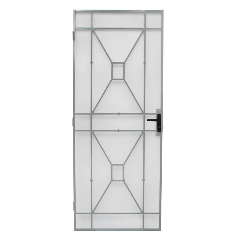 Bastion 2024 X 806mm White Sutton Imperial Steel Frame Security Screen Door Security Screen