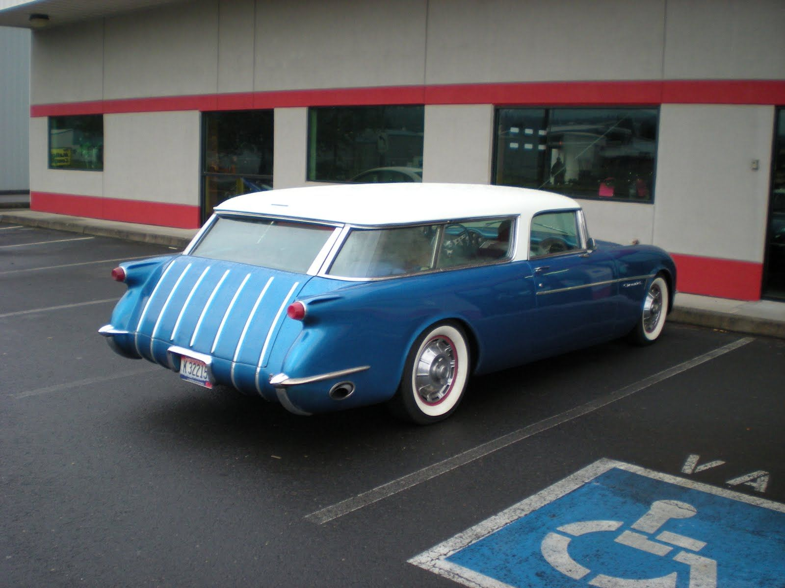 1953 Corvette Station Wagon This Car Should Not Exist It Was A Plymouth Savoy Concept In