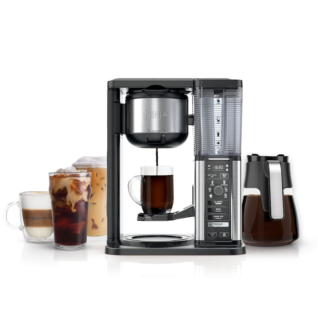 Ninja Specialty Coffee Maker with Glass Carafe CM401 in