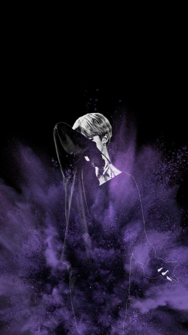 Bts Ot7 Purple Aesthetic Wallpaper Foto Lucu Gambar Bts Ungu
