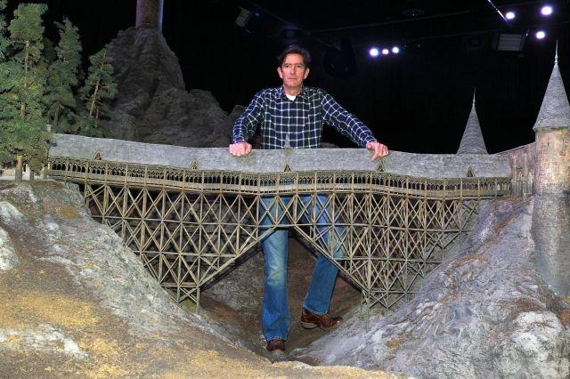 Maqueta del puente hacia el círculo de piedra   Castillo de harry ...