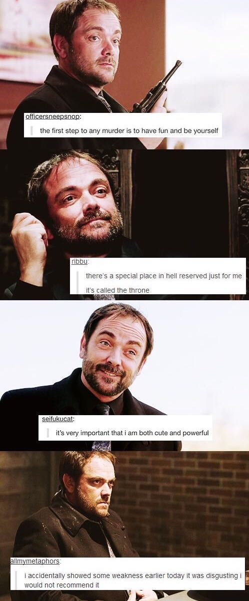 Read Supernatural Jokes - Oh Crowley! - Wattpad