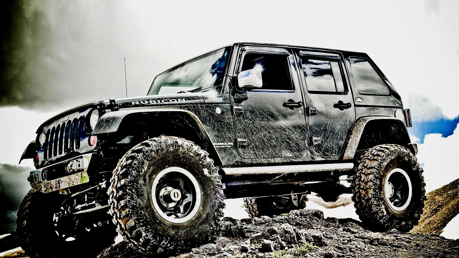 Roading 4x4 Offroad Off Road Wrangler Rubicon Jeep Hd Wallpaper