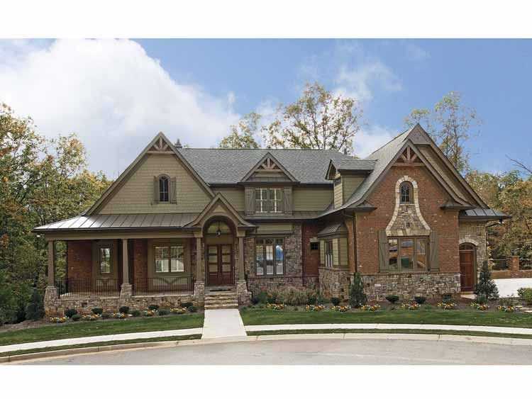 Craftsman Style House Plan 5 Beds 4 5 Baths 3930 Sq Ft Plan 54 280 Craftsman House Plans Craftsman Style House Plans Craftsman House