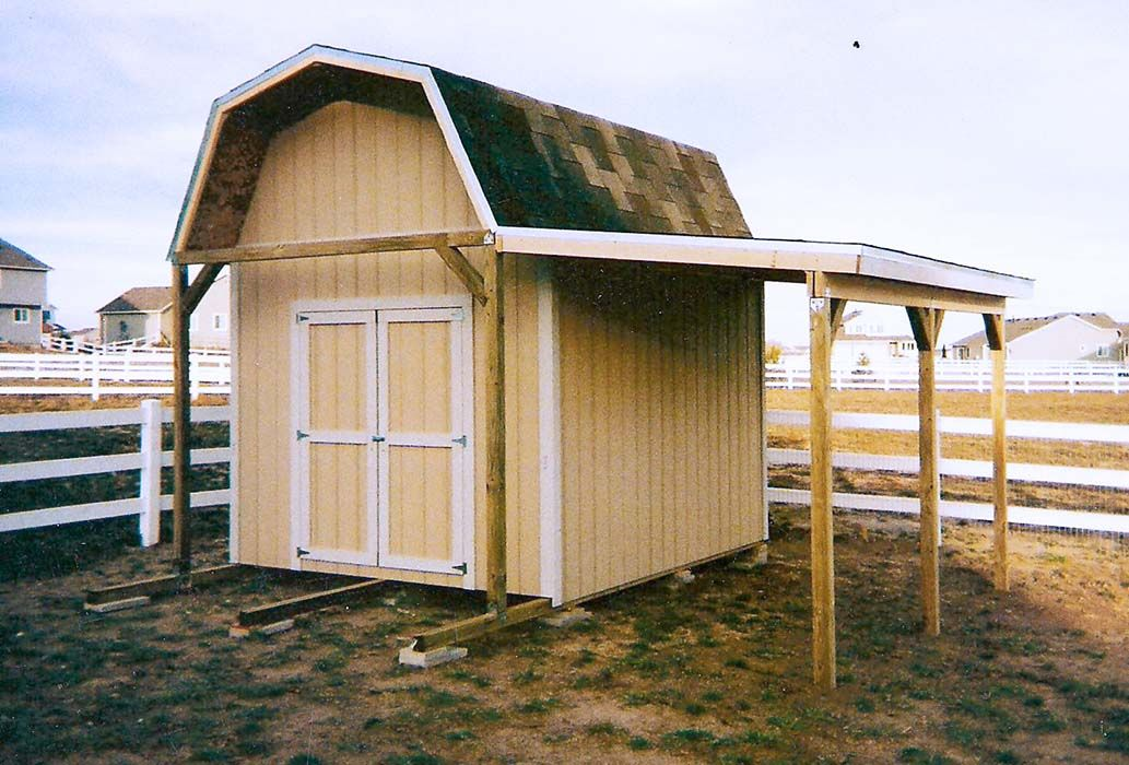 storage building with lean to carport plans Google
