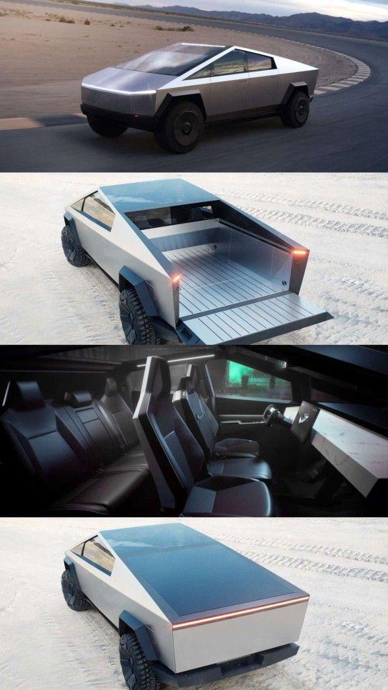 Pin By Vincent Louis On Tesla Cybertruck Futuristic Cars Tesla