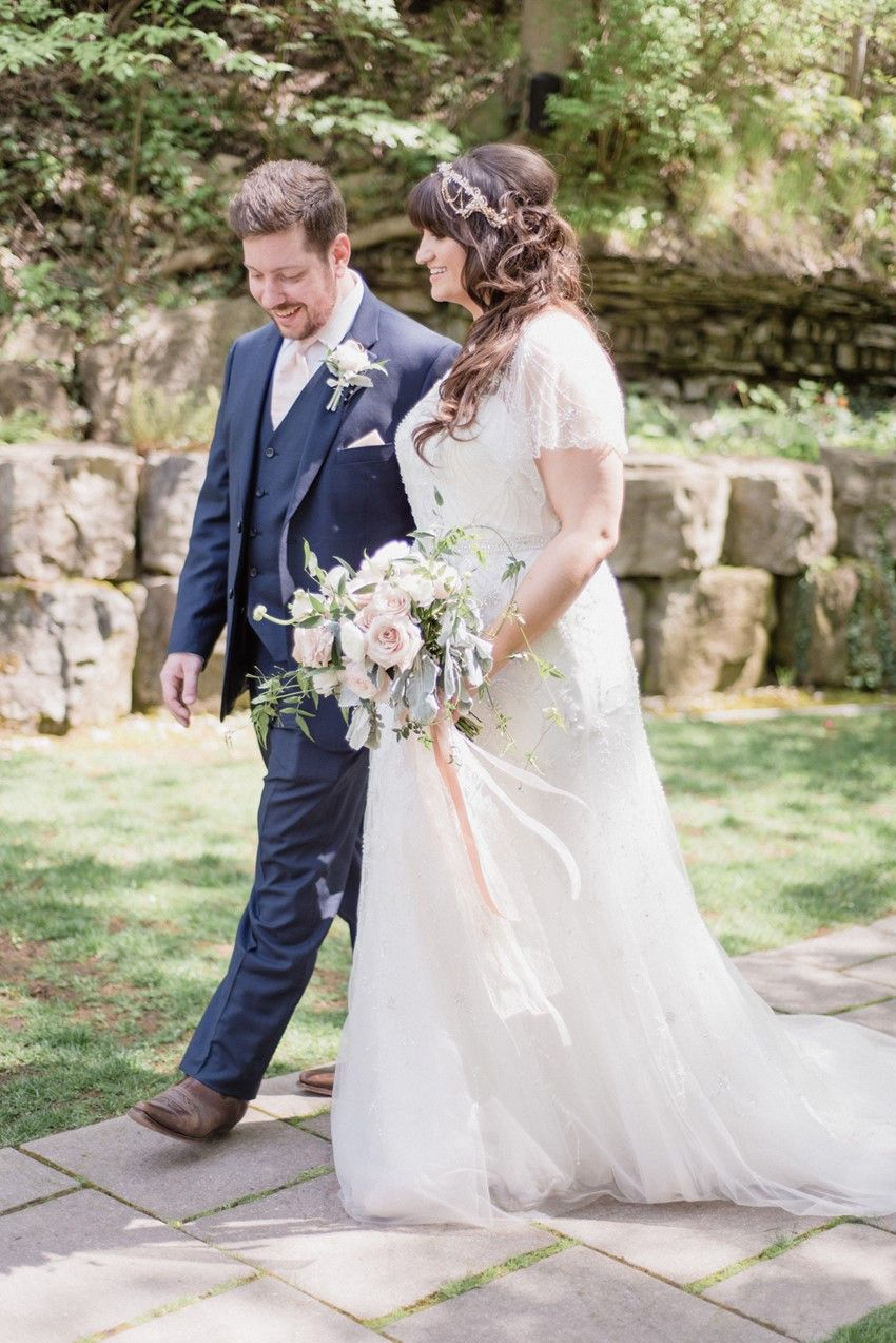Romantic Vintage Inspired Pink & Navy Wedding