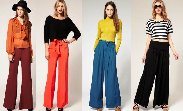 aa238a57d Latest Style Trend - How to wear Palazzo Pants - Touch18 - like the ...