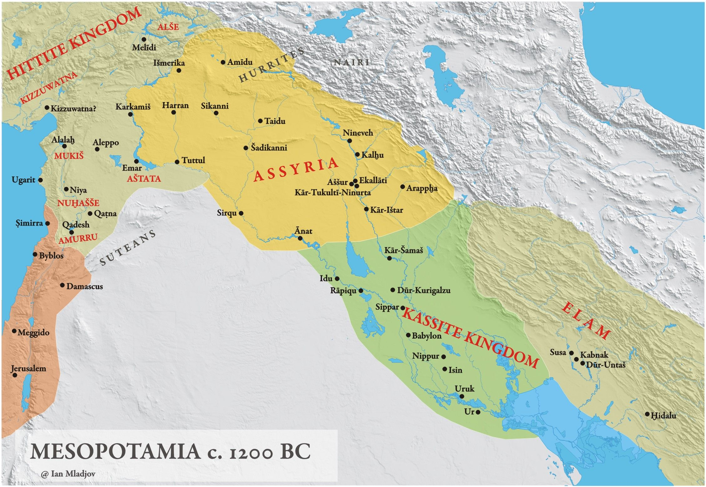 physical map of fertile crescent - Google Search | Mesopotamia | Map ...