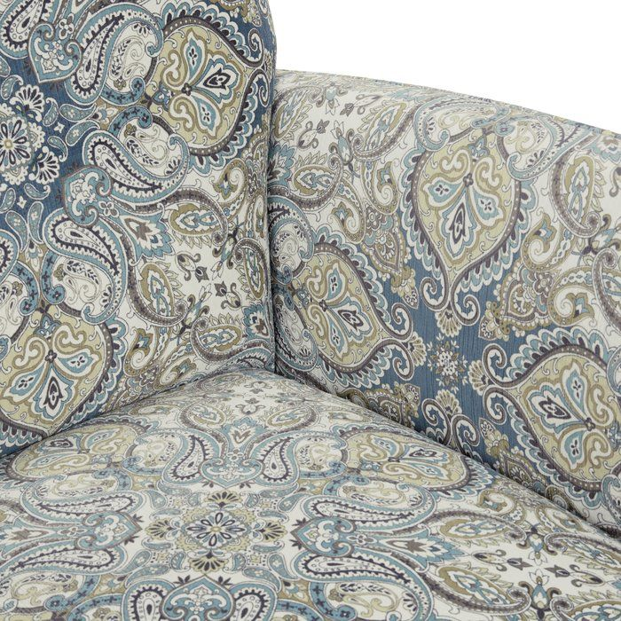 Best Wainfleet Armchair Blue Accent Chairs Brown Blue 640 x 480