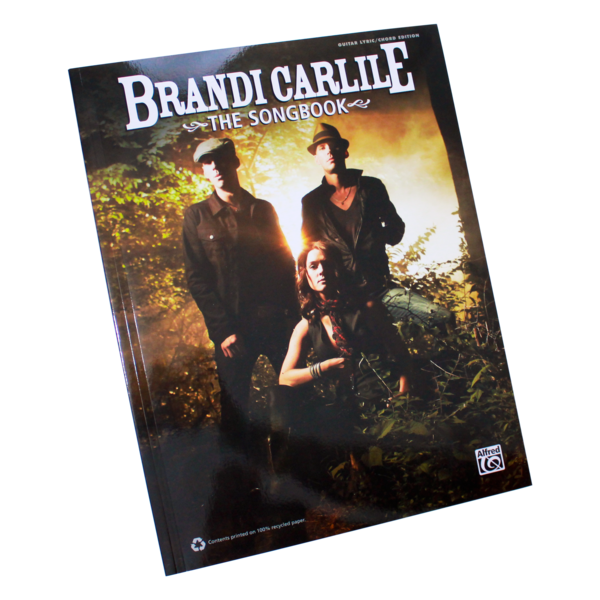 101 page guitar Lyric / Chord edition of the Brandi Carlile songbook ...