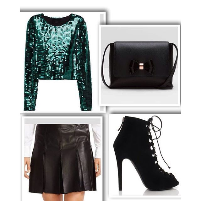 Outfit of the day #ootd #fashionblog #tedbaker #ralphlauren #giambattistavalli #boots #polo #sequin #leather #bag #green #black #fashion #shopping #wishlist #whatiworetoday #luxury #jersey #fashionista #womensfashion #skirt #shoes Feeling generous? paypal.me/hebavsreason Peace And Pistachios, Heba xoxo