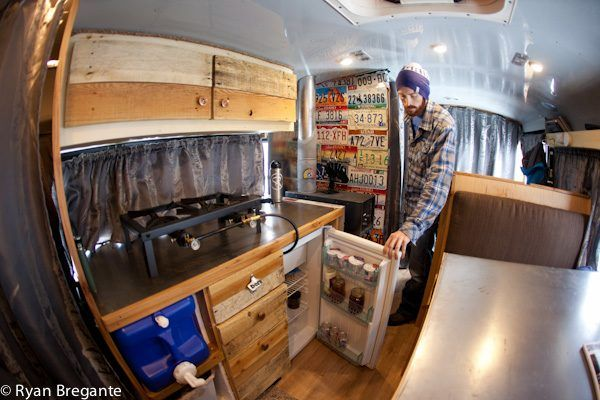 4x4 school bus tiny house conversion  short bus to tiny home photo