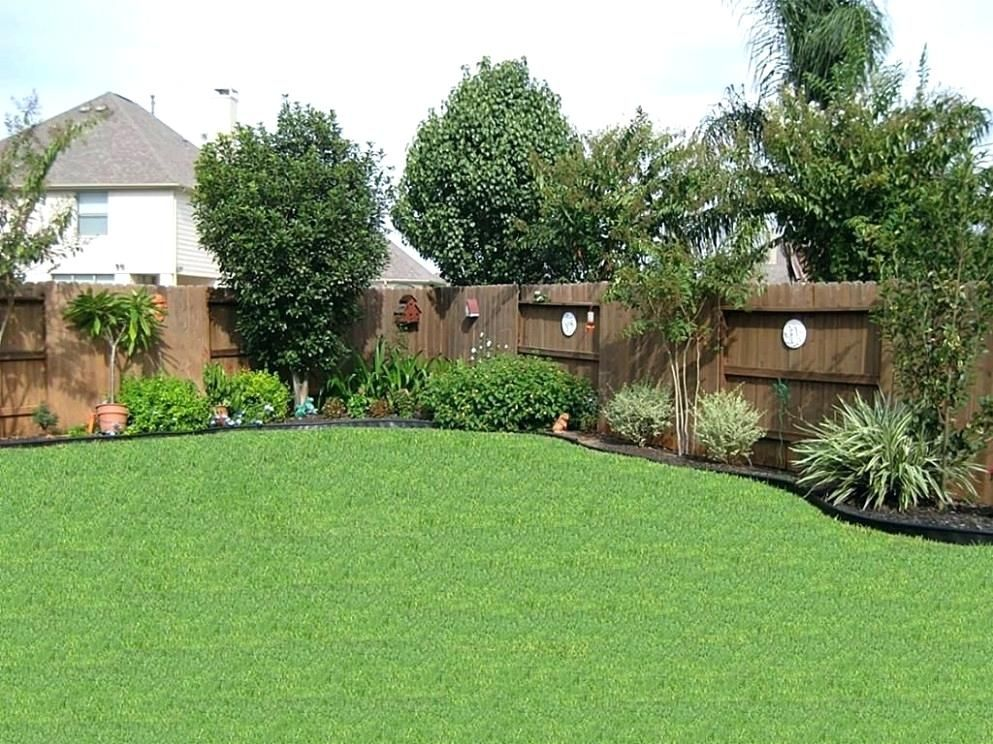 Landscaping Along House Best Landscaping Along Fence Ideas On