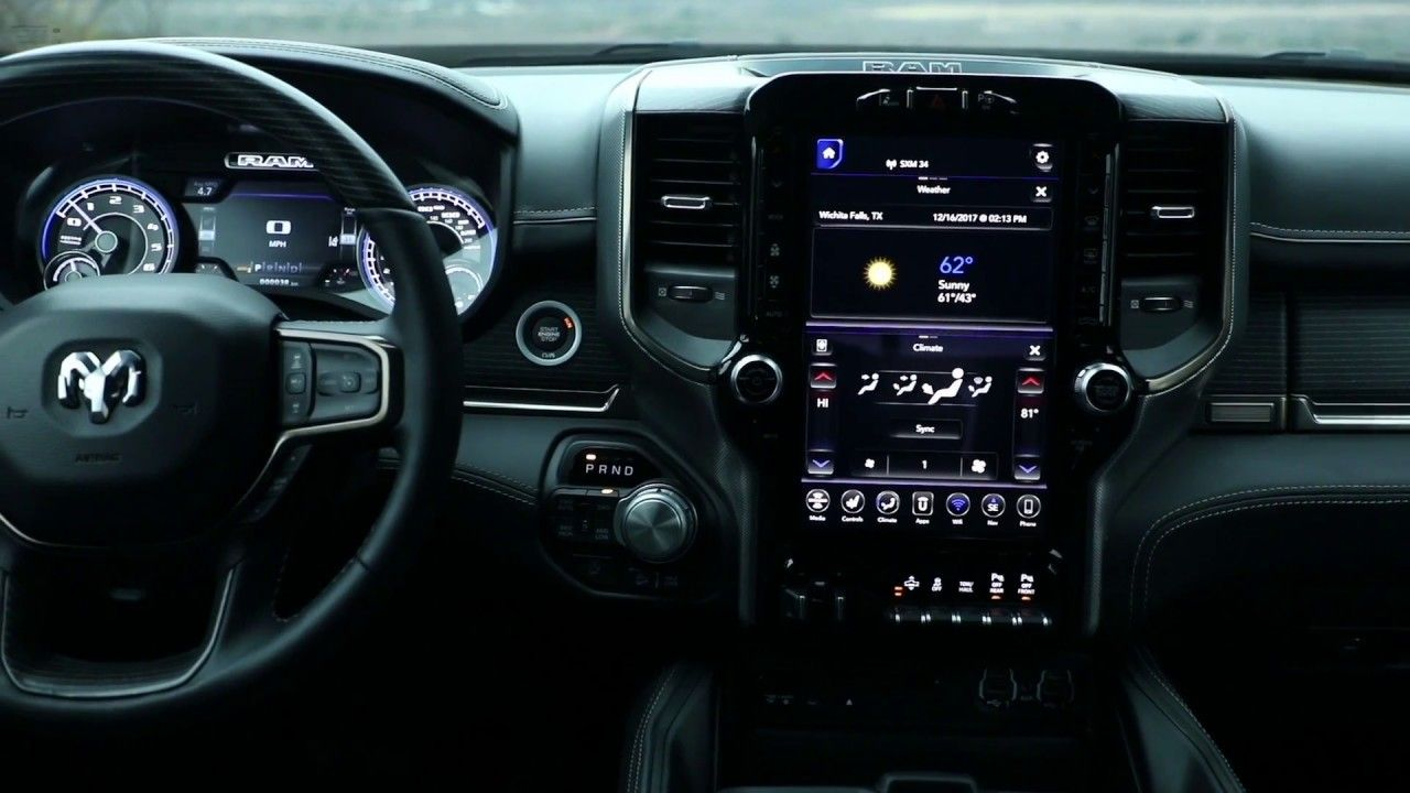 Latest Dodge Ram 2019 Ram 1500 Interior 40481 Sandgap Ky July 2018 The 2019 Ram 1500 Features The First Application Of Uconne 2019 Ram 1500 Ram 1500 Ram