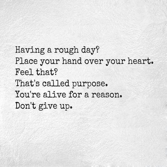 Having A Rough Day? Place Your Hand Over Your Heart. Feel