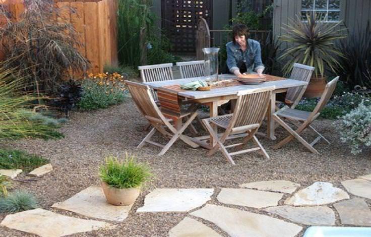 Elegant Fabulous Gravel Patio Ideas On A Budget Pea Gravel Patio Stone .