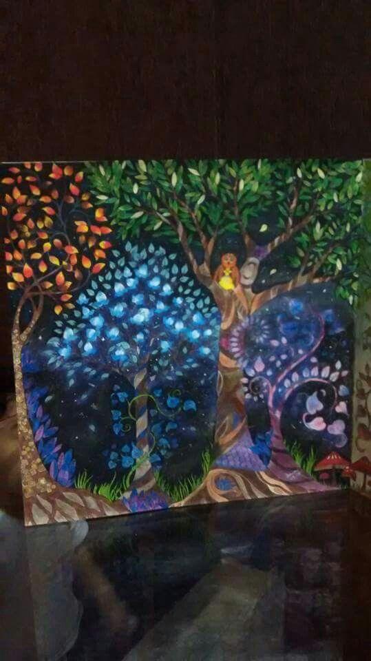 Jardim Secreto | Livro floresta encantada, Pintura aquarela e Aquarela