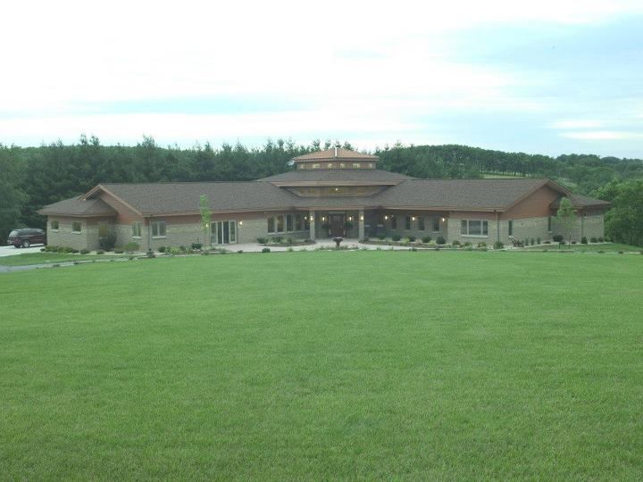 Morton buildings home in wisconsin homes pinterest for Morton building cabin