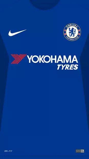 Chelsea 17-18 kit home