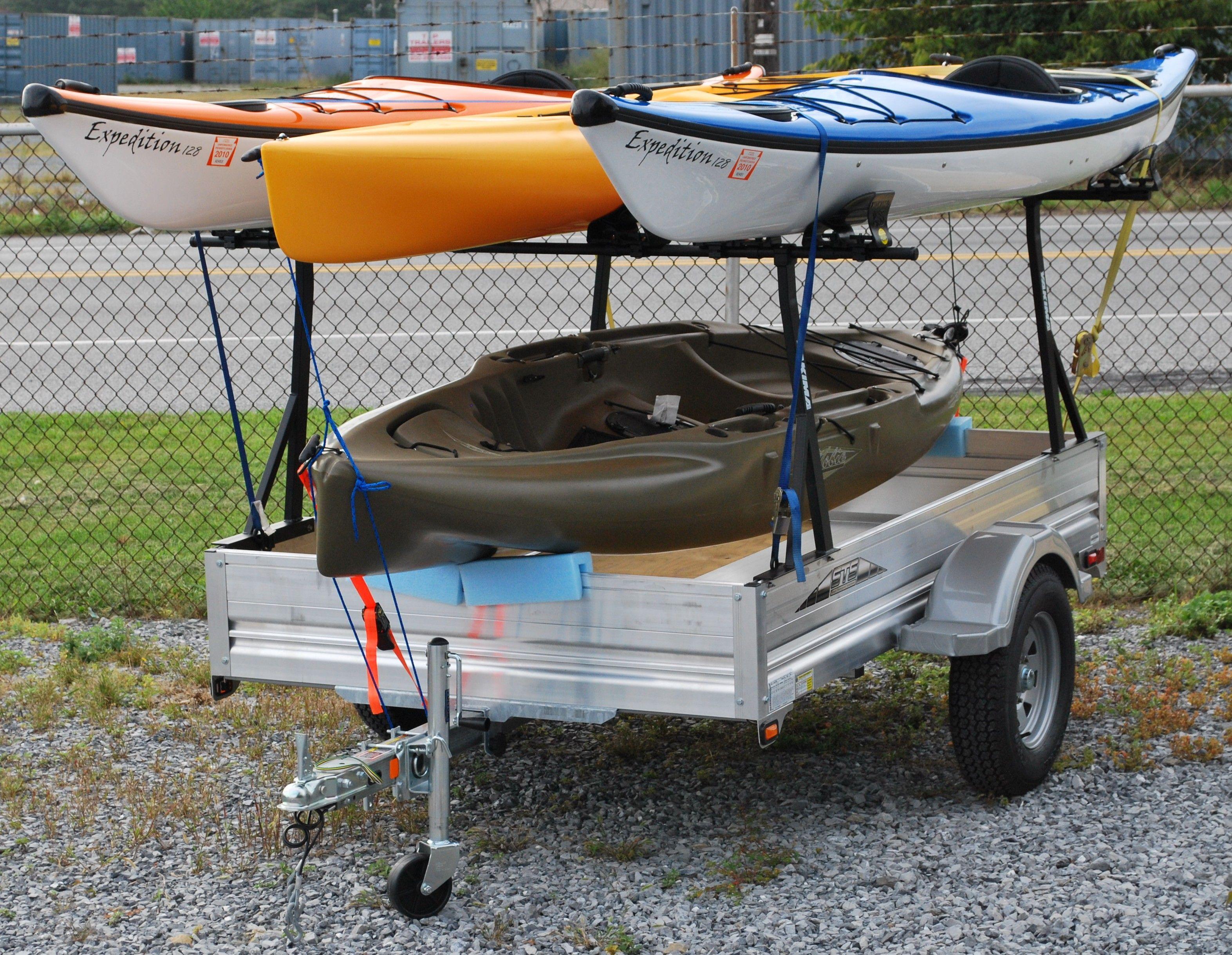 kayak trailer | utility trailer kayak carrier