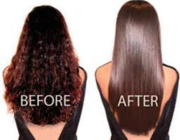 Naturally Straighten Hair With Brown Sugar