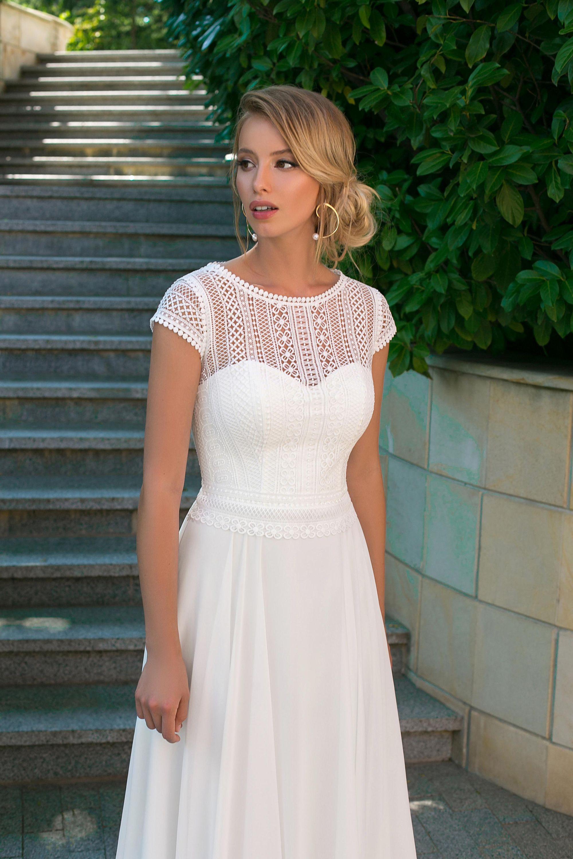 angela bianca - style 1026 in 2020 | kleid standesamt braut