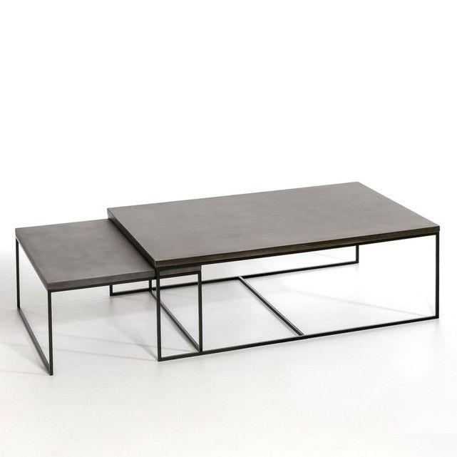 tables gigognes la redoute cool table gigogne la redoute sellette romy lot de laiton am pm la. Black Bedroom Furniture Sets. Home Design Ideas