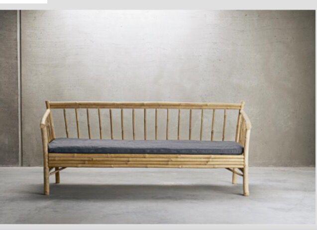 Bamboo Sofa From Tine K Home Hage Og Uterom Pinterest