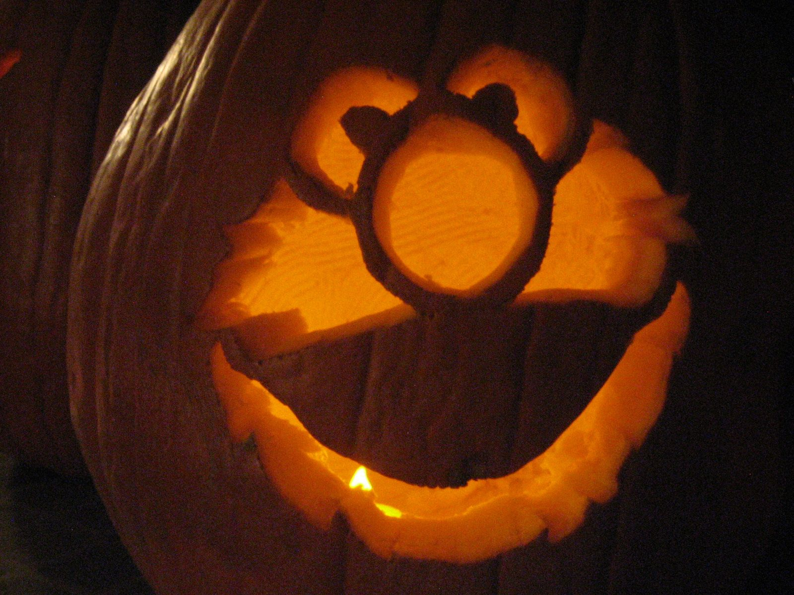 Free Printable Halloween Elmo Patterns Pumpkin Pattern Jpg 1600x1200 Bruins Carving