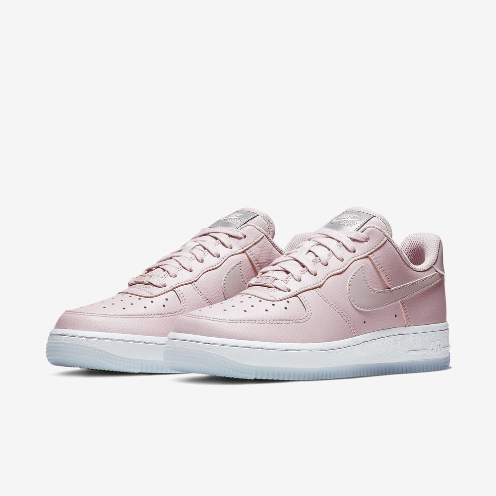 660244e8da3993 Nike Wmns Air Force 1 07 ESS AF1 Plum Chalk White Women Shoes Sneaker  AO2132-500