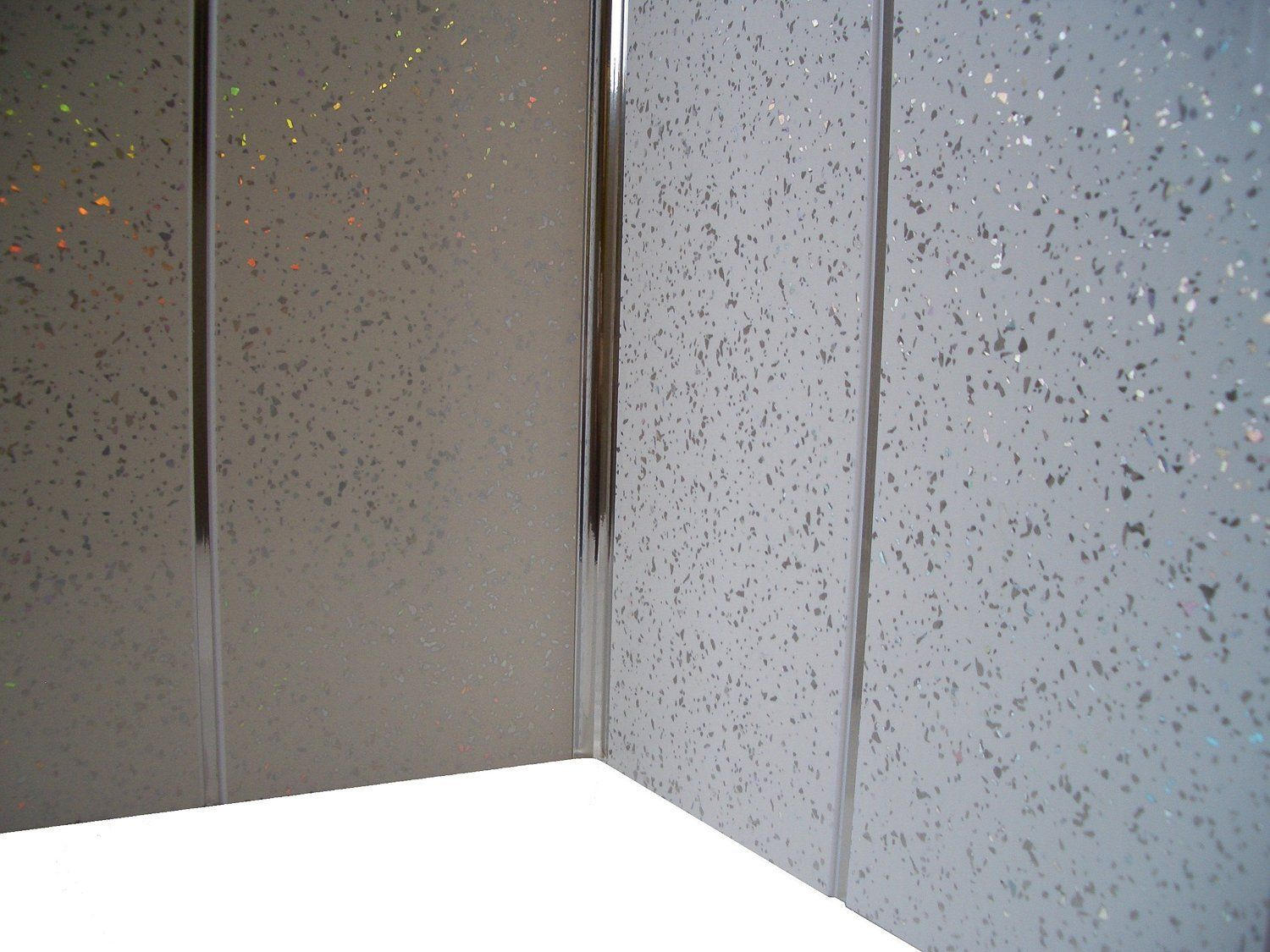 Chrome Panel Trim Perfect For Bathroom Kitchen Shower Wall ...