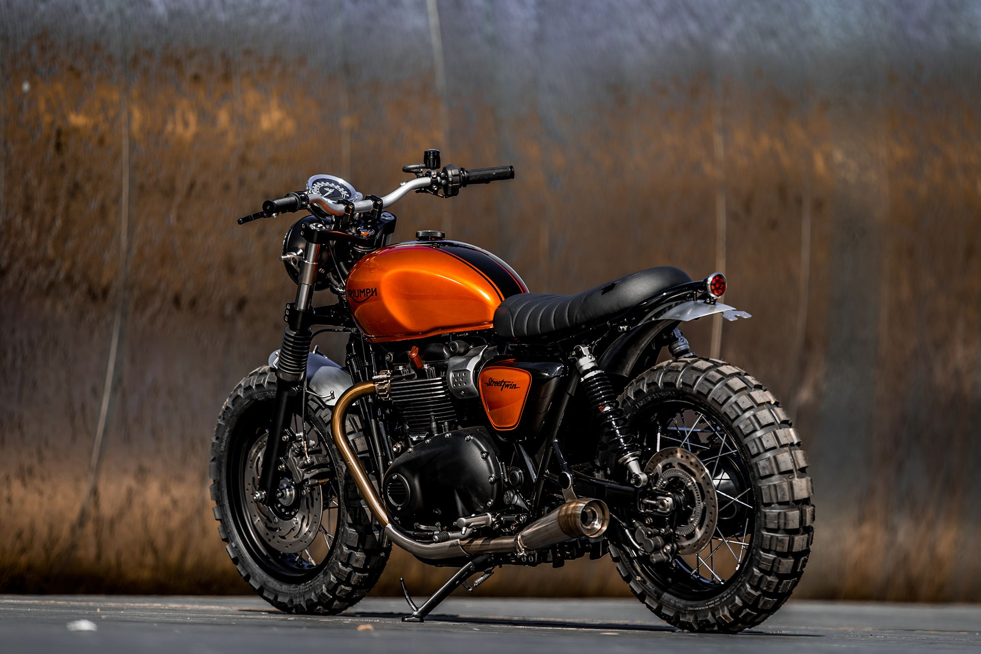 down & out cafe racers | triumph street twin | | motorbikes