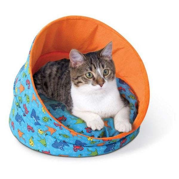 Kitty Cave Fish Cat Bed Kh3086 Catsplay Superstore Gatos