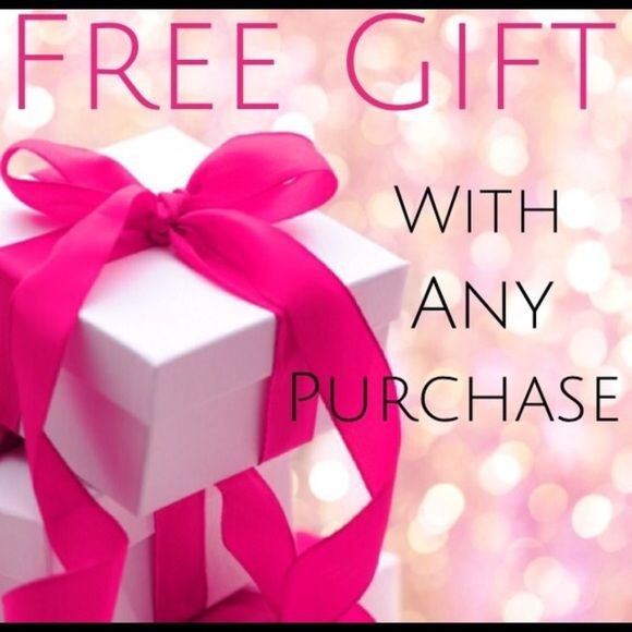Image result for free gift with any purchase