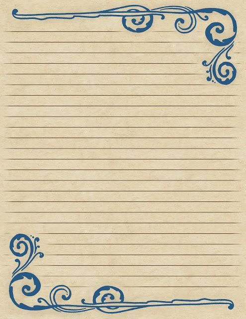 Love Letter Paper Manualidades, Free printables and Filing - microsoft word lined paper