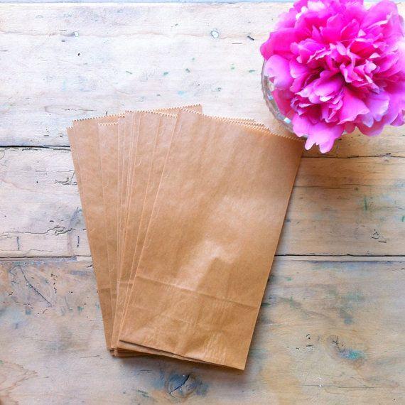 Set di 10 sacchetti in carta craft per regali di Theclassyhomeshop, €3.00 italia